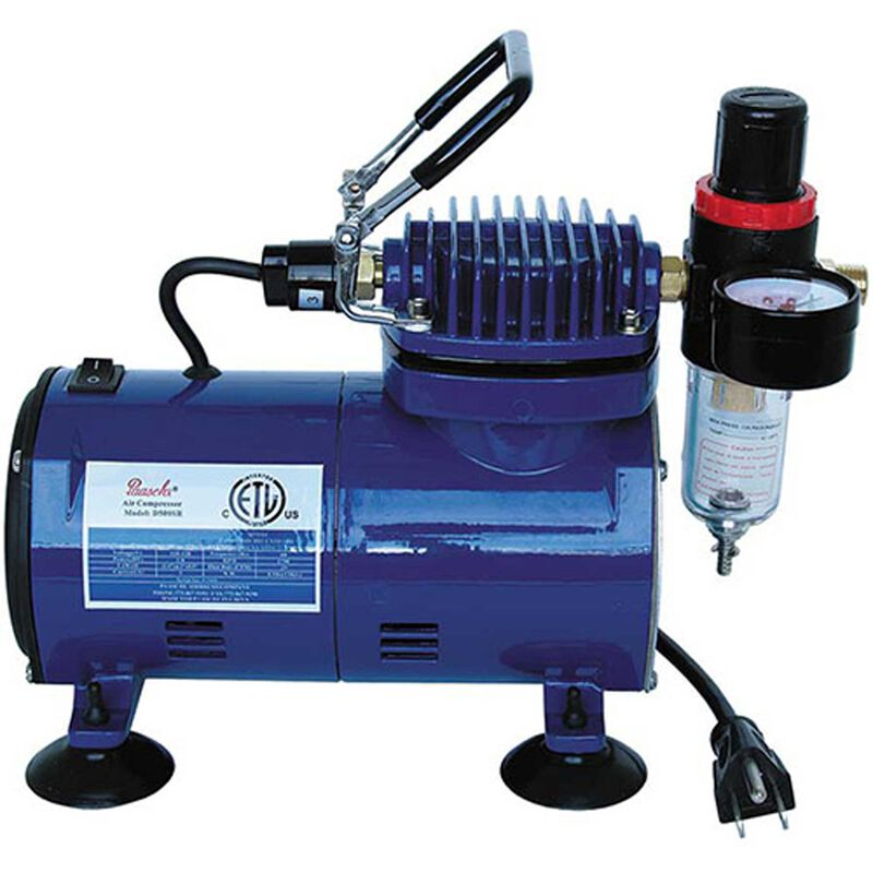 Paasche Airbruch D500 Compressor with R75 Regulator