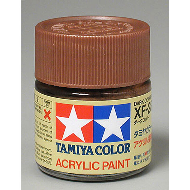Tamiya ACRYLIC   PAINT XF28 DARK COPPER