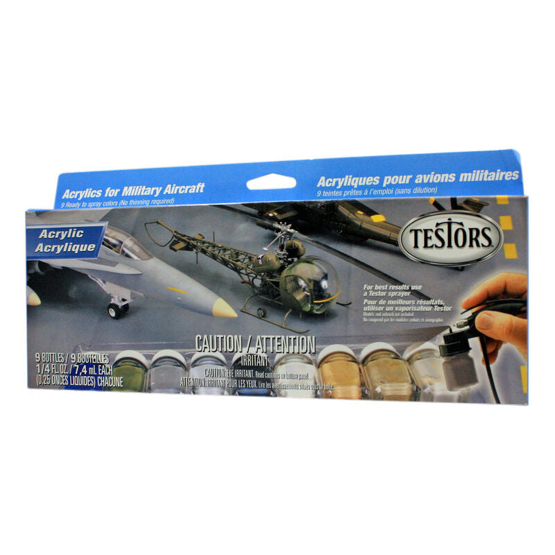 Testors Aircraft Spray Acrylic Set