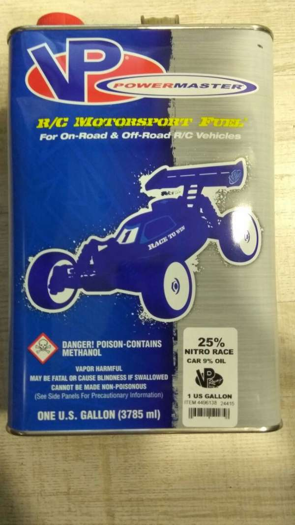 VP POWERMASTER 25% NITRO RACE CAR