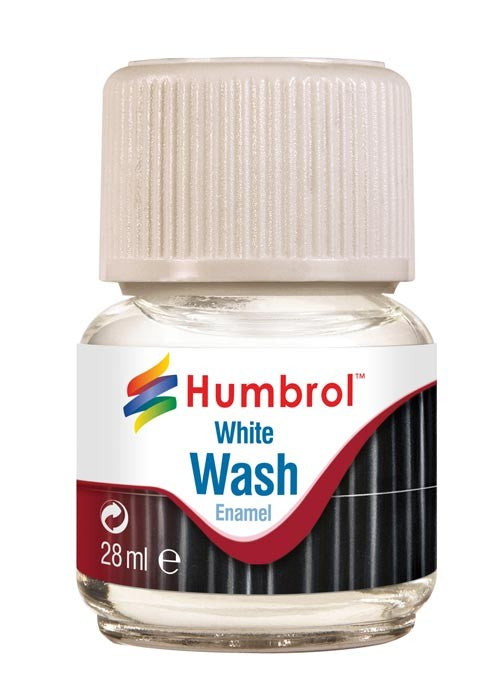 Humbrol Enamel Wash White 28ml