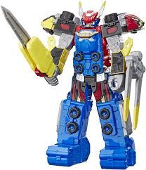 E5900 Prg Megazord Action Fig Ast