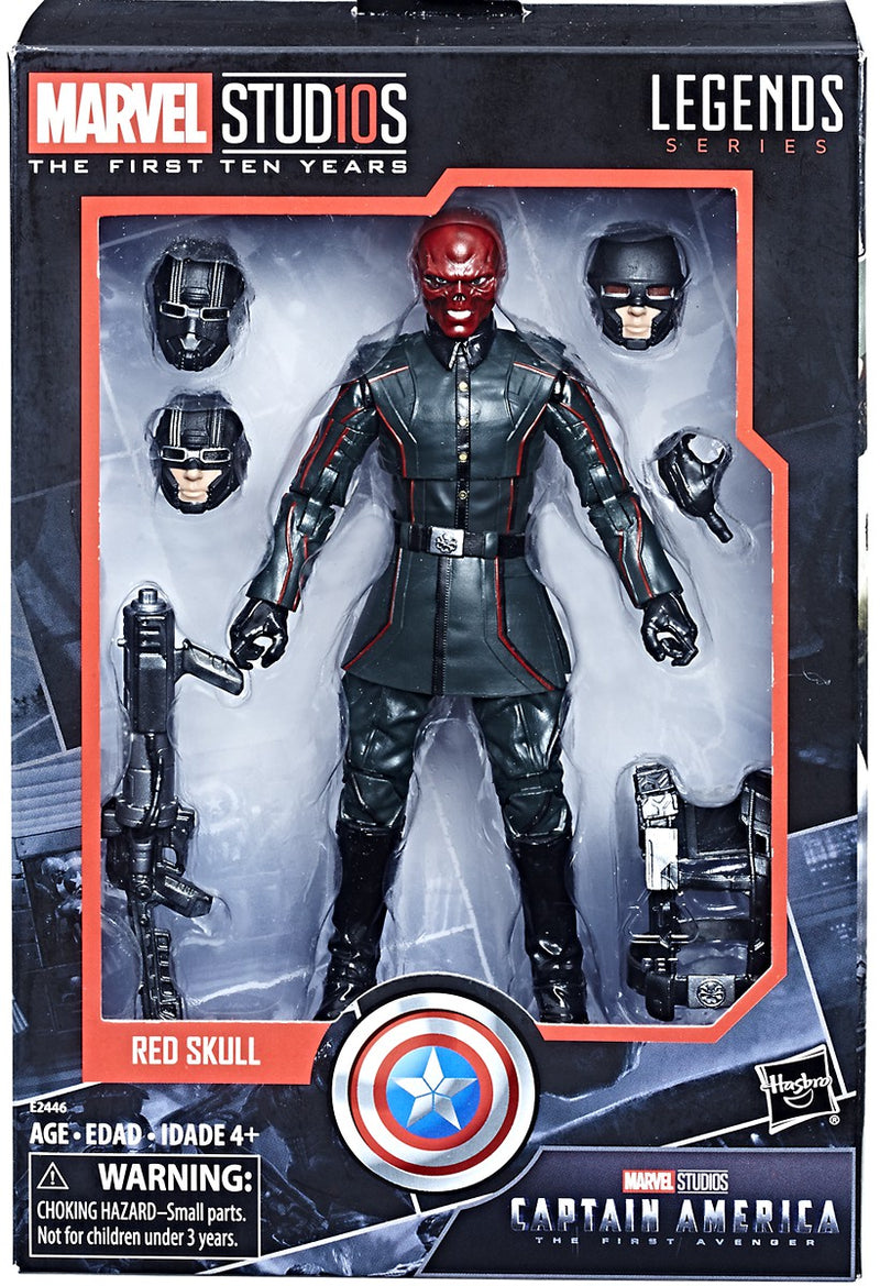 "E2446 6"" Red Skull Marvel Studios Legend"