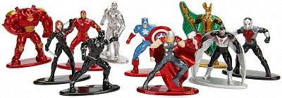 Metals Die Cast: Nano Metal Figs Avengers de Marvel Figuras Collecionables