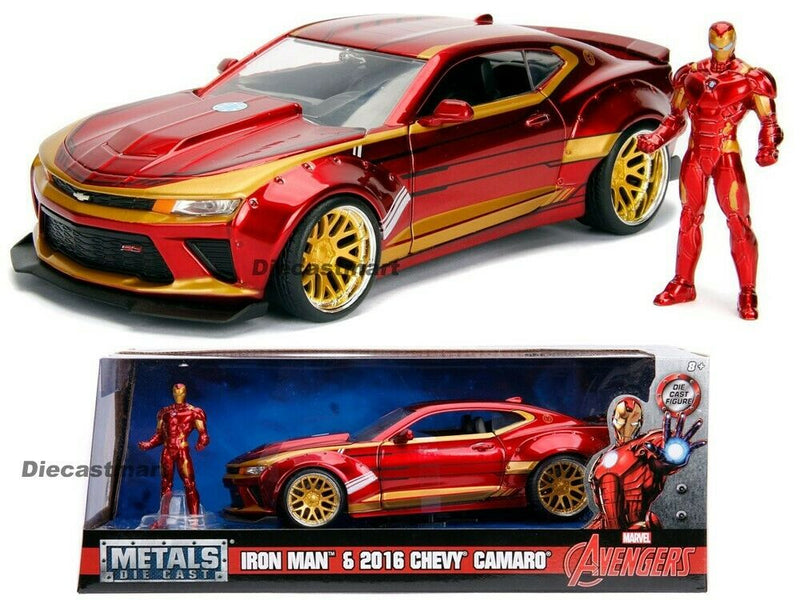 99724 MARVEL AVENGERS IRON  MAN CHEVY CAMARO