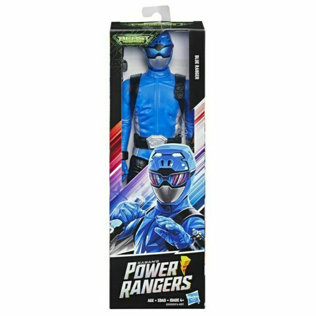 E5914 Power Rangers 12 Action Fig Ast