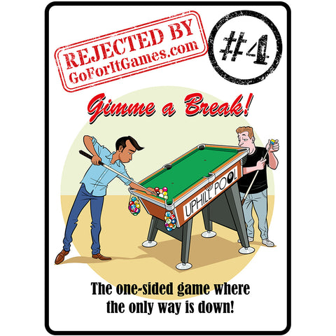 A problematic pool game