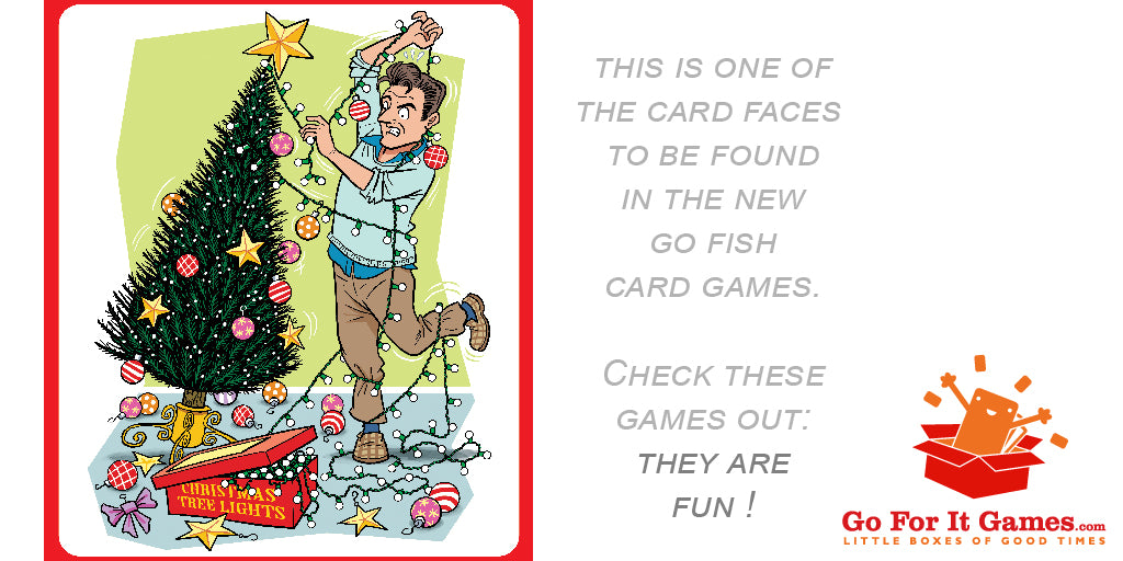"Go Fish Card Game - Dad during Advent, let's call it ""Dadvent"""