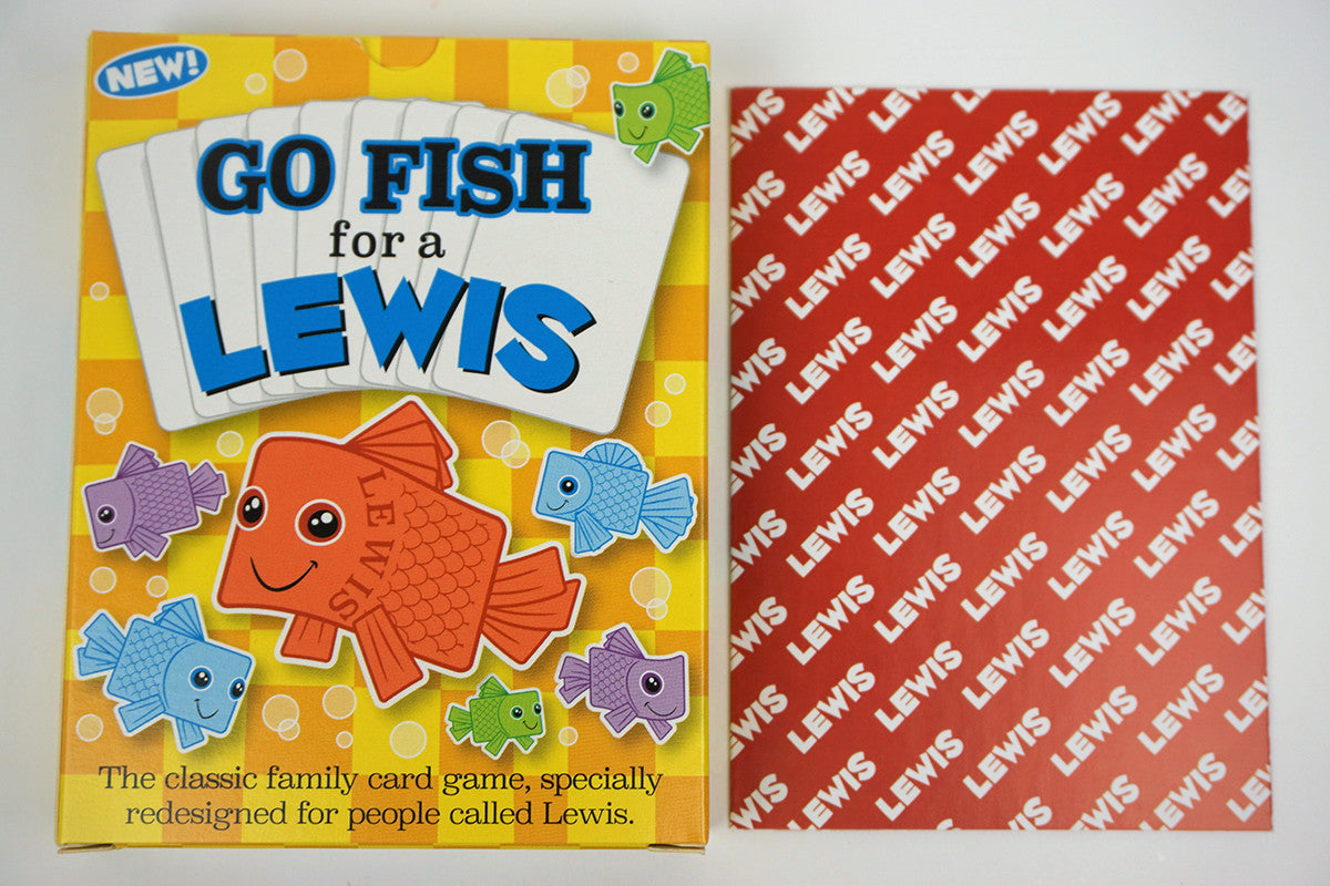 Go Fish For A Lewis  Goforitgamesusa
