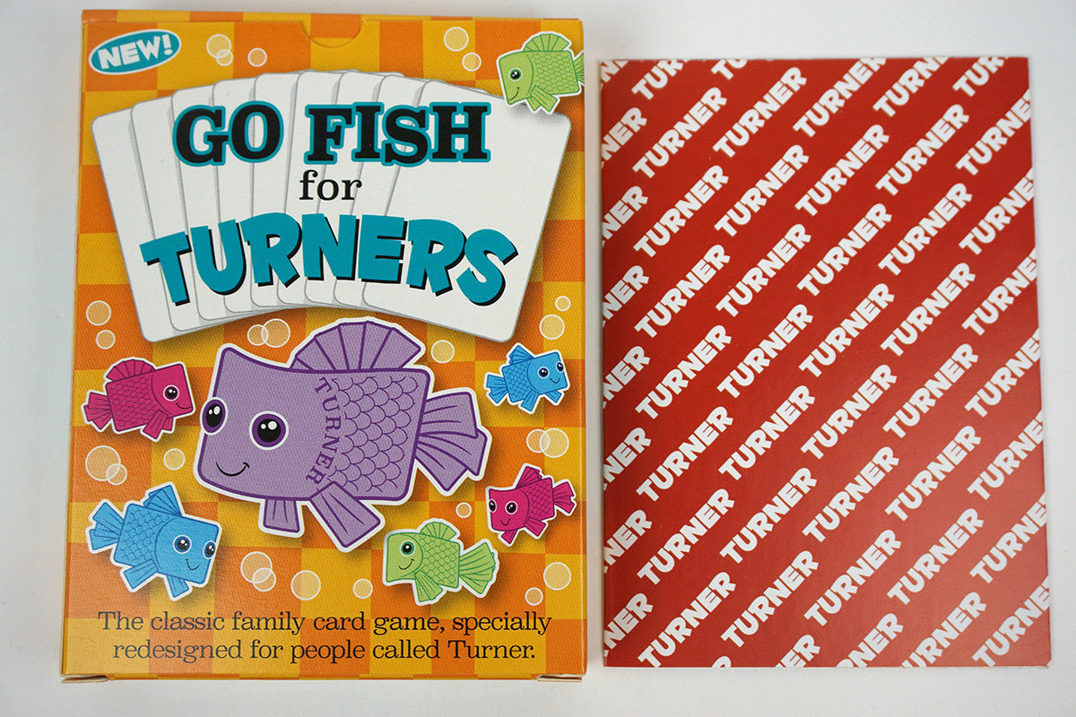 Go Fish for Turners - GoForItGames-USA