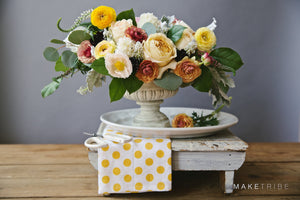 Flower Fête with Make Tribe and Petal & Print