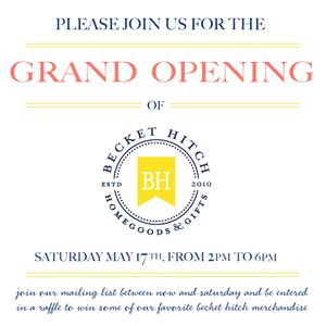 Join us for our Grand Opening Party!!! - Becket Hitch