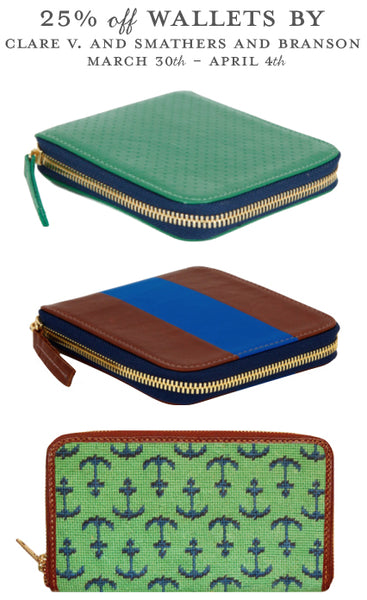 20% off In Stock Wallets