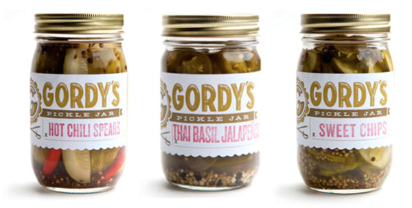 Gordy's Pickle Jars