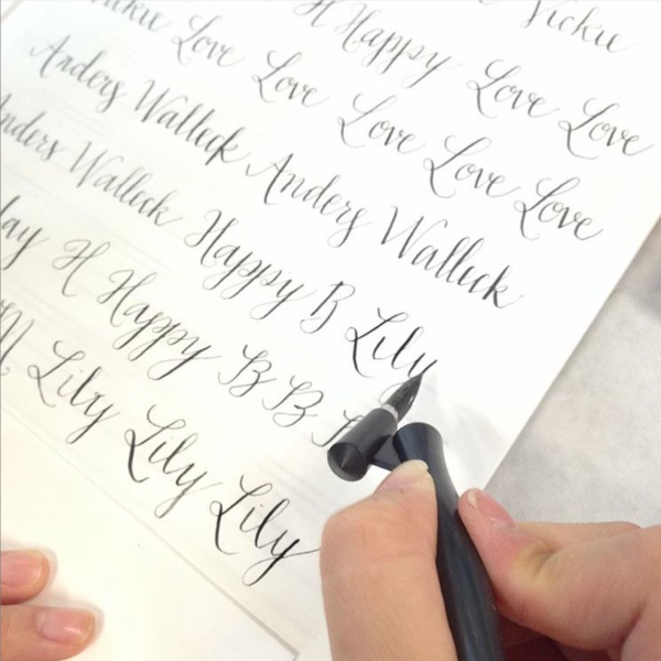Menat to be Calligraphy at Becket Hitch - August 2015
