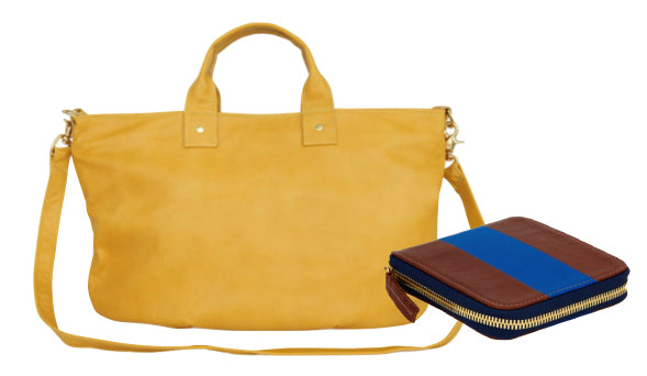 Clare V. Yellow Bag