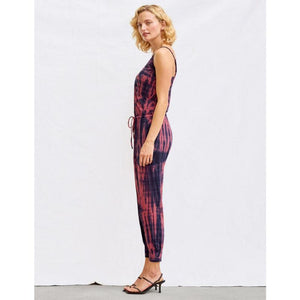 Tye Dye Jumpsuit Side