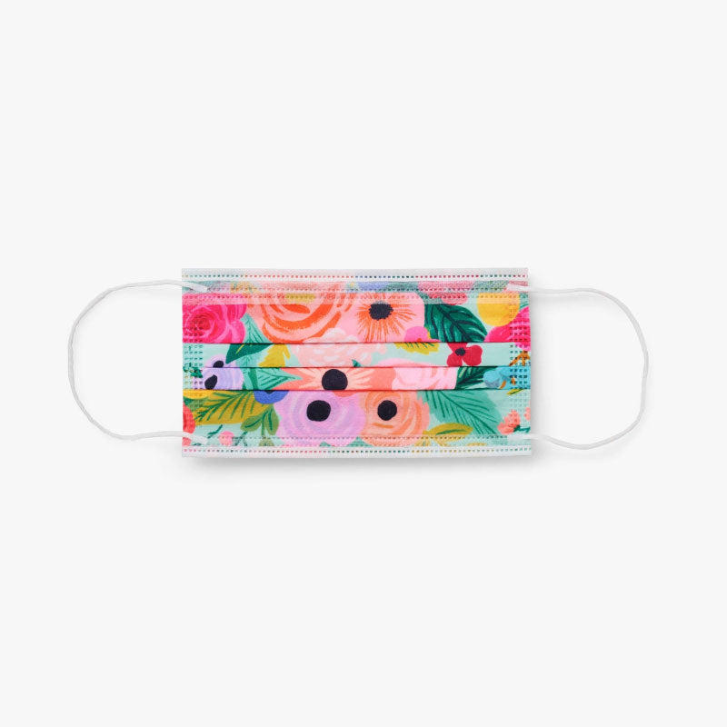 Garden Party Disposable Face Masks