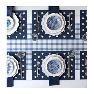 Stars Placemat Tablescape