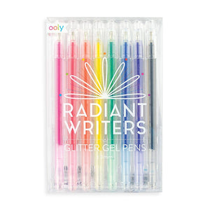 Radiant Writers Glitter Gel Pens - Becket Hitch