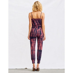 Tye Dye Jumpsuit Back