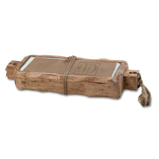 Driftwood Candle Tray  Large in Ginger Patchouli - Becket Hitch