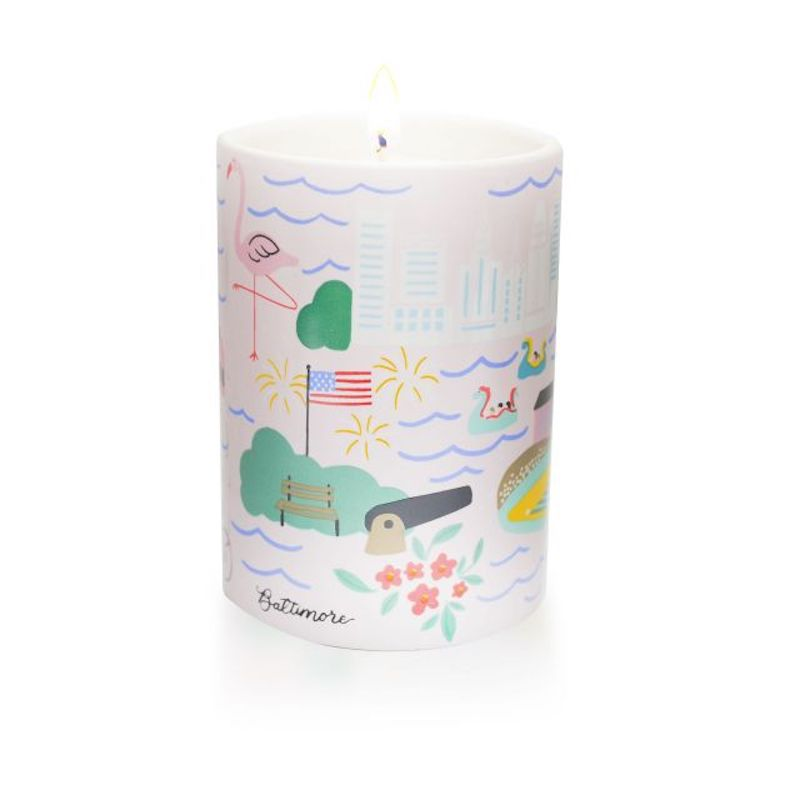 Baltimore Candle