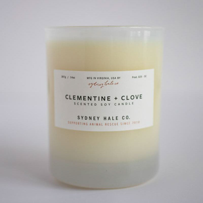 Clementine and Clove Candle