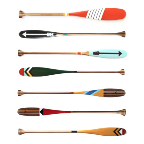 Personalized Canoe Paddles - Becket Hitch
