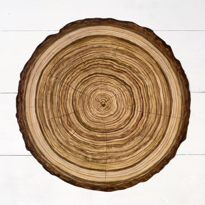 Wood Slice Paper Placemat - Becket Hitch