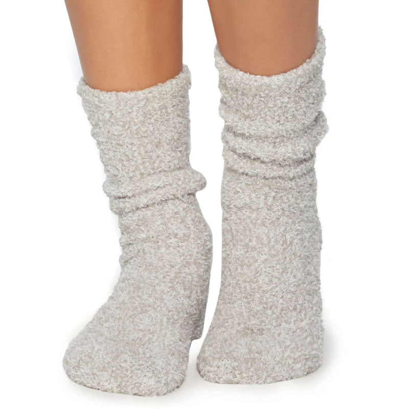 Cozy Socks in Oyster