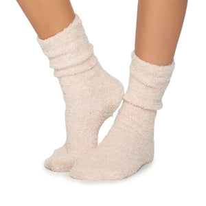 Cozy Socks in Dusty Rose