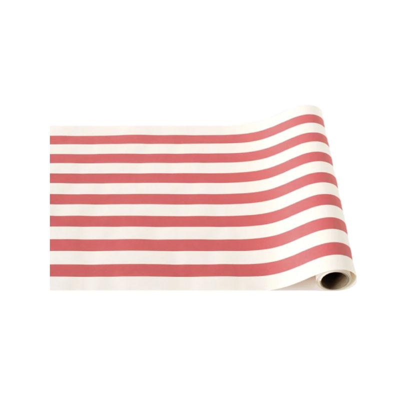 Red Classic Stripe Runner
