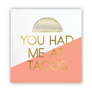 Taco Cocktail Napkins - Becket Hitch