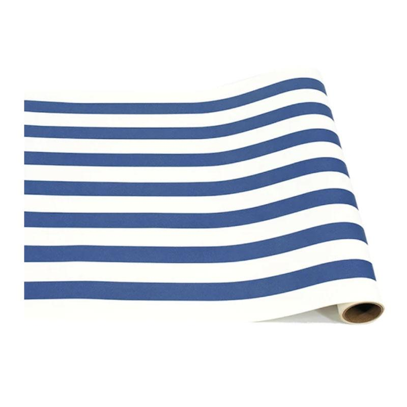 Navy Stripe Table Runner