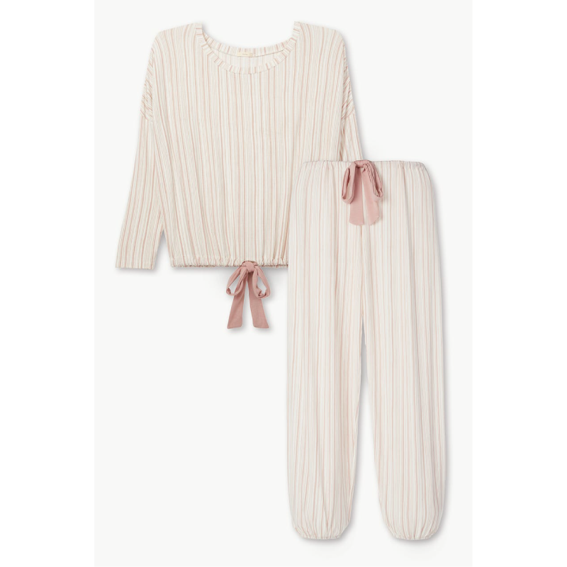 Striped Gisele Slouchy Set