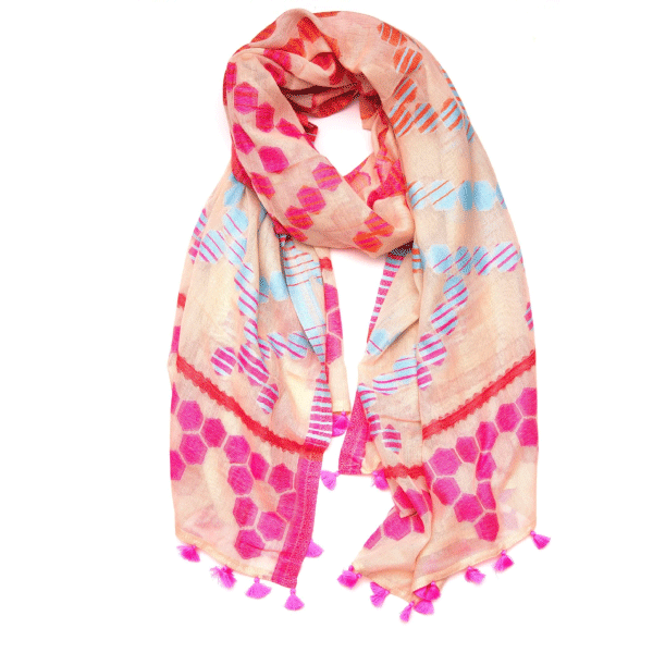 Honeycomb Scarf - Becket Hitch