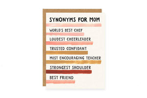 Synonyms for Mom - Becket Hitch