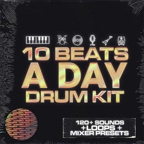 10 Beats A Day (Drum Kit)