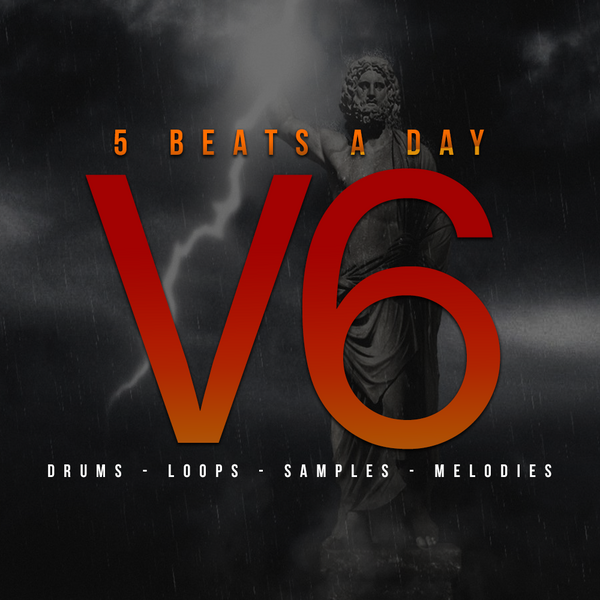 5 Beats A Day : Volume 6 (Drum Kit)