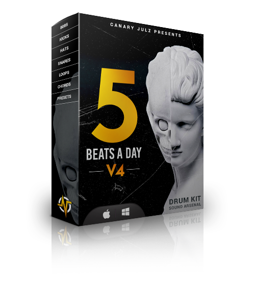 5 Beats A Day V4 : Drumkit + Sound Arsenal
