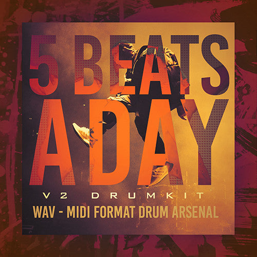 5 Beats A Day Producer Drumkit