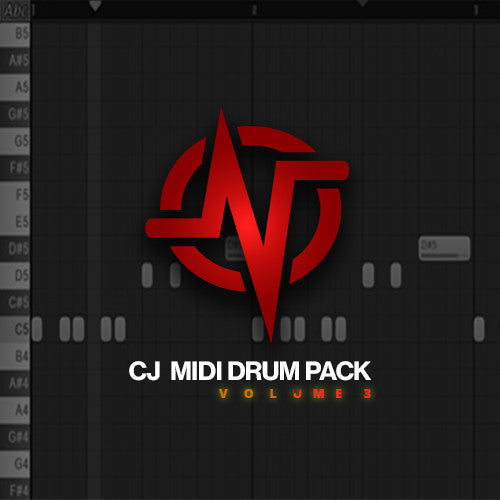 CJ's MIDI Drum Pack : Volume 3