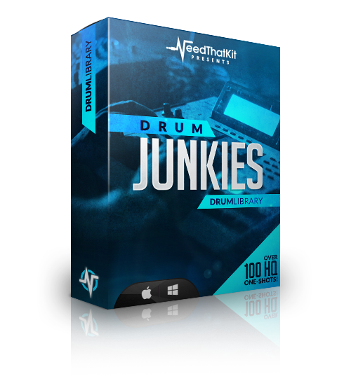 DrumJunkies V1 : Drum Library