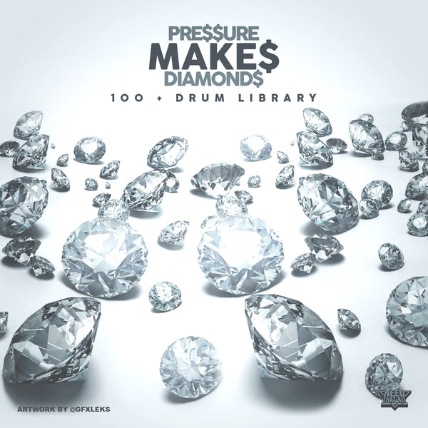 Pressure Makes Diamonds : 100 + Drum Library