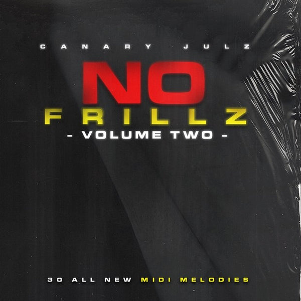 No Frillz : Volume 2 (MIDI Melody Pack)