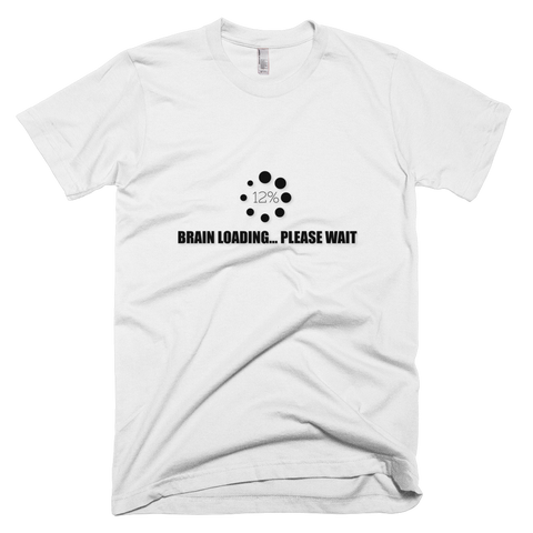 Brain loading - T-shirt hommes manches courtes