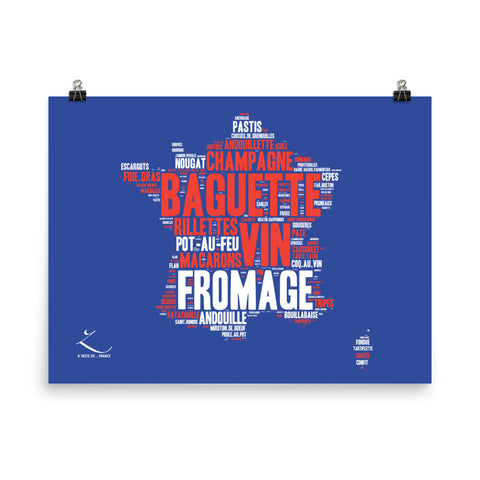Poster photo - A taste of France
