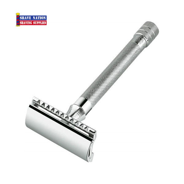 Merkur Safety Razor Flat Bar Long Handle 23C