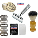 """Get Your Shave On!"" 34C Beginners Safety Razor Set"